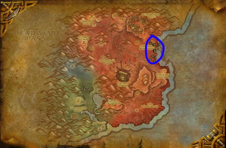 Runecloth Farming - Best Places To Farm Runecloth in WoW